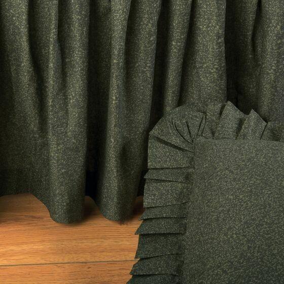 Forest Green Queen Bedskirt