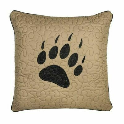 Bear Walk Paw Pillow