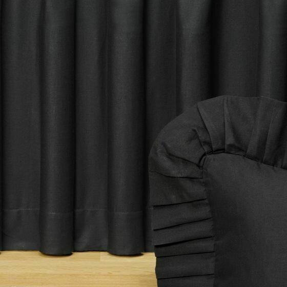 Black Night Queen Bedskirt