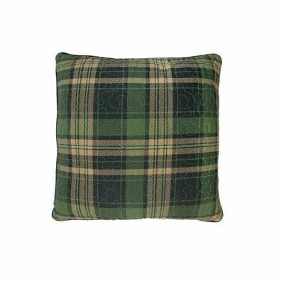 Birch Bear Plaid Pillow