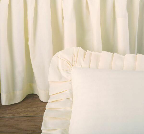 Cream Twin Bedskirt