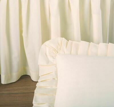 Cream King Bedskirt