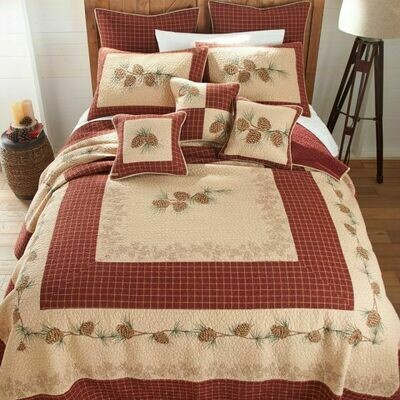 Pine Lodge King Quilt