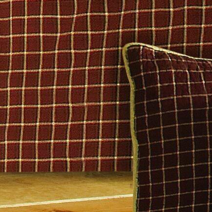 Pine Lodge Plaid Queen Bedskirt