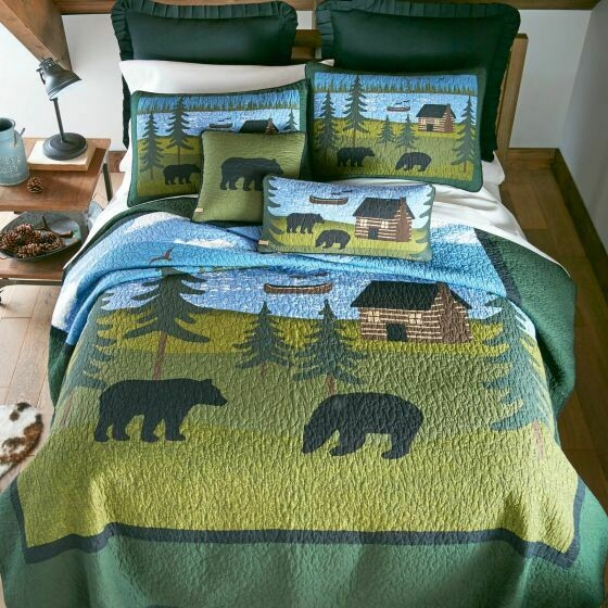 Bear River King Quilt