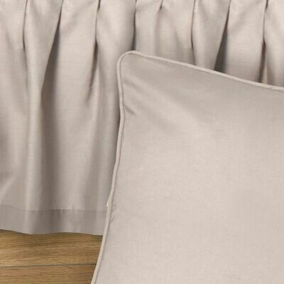 Smoky Taupe Queen Bedskirt