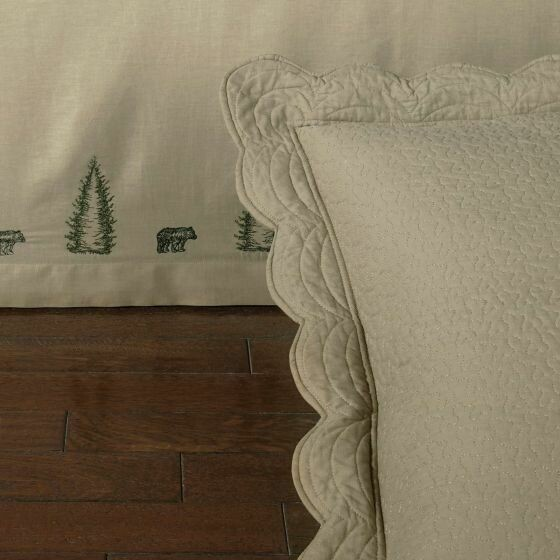 Bear Creek Queen Bedskirt