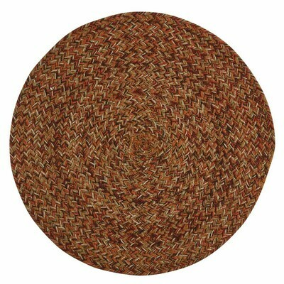 Allspice Braided Round Placemat