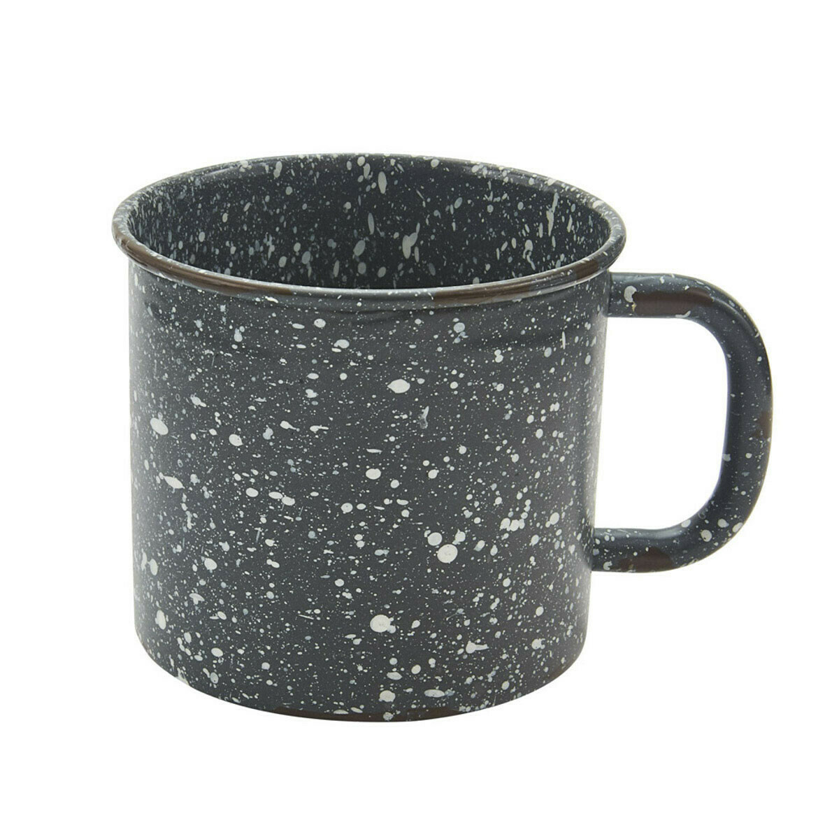 Granite Enamelware Gray Mug