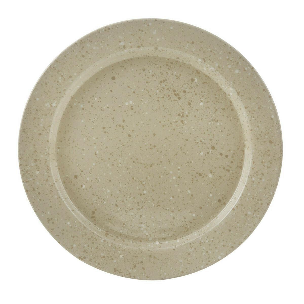 Granite Enamelware Sandstone Dinner Plate