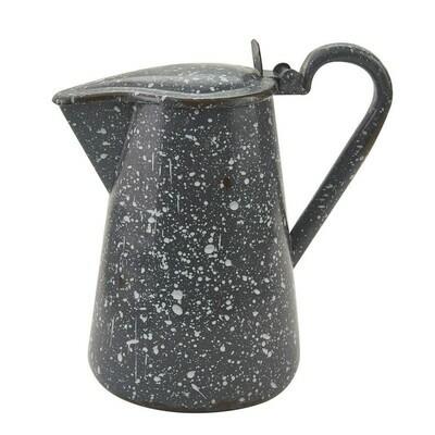 Granite Enamelware Gray Pitcher