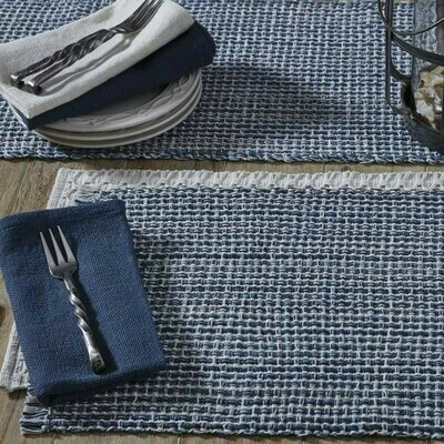 Tweed Denim Placemat