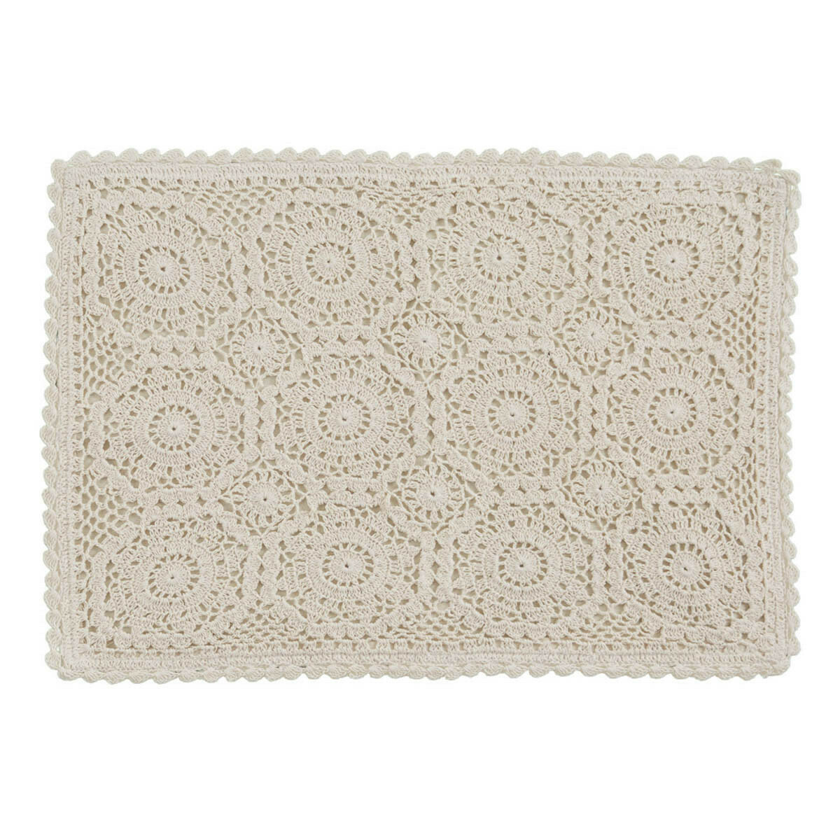 Lace Oatmeal Placemat
