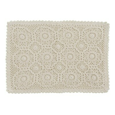 Lace Cream Placemat