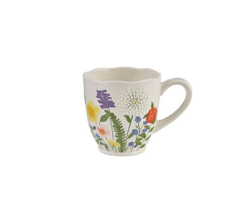 Garden Flower Mug