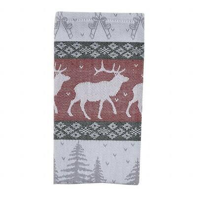 Reindeer Jacquard Napkin