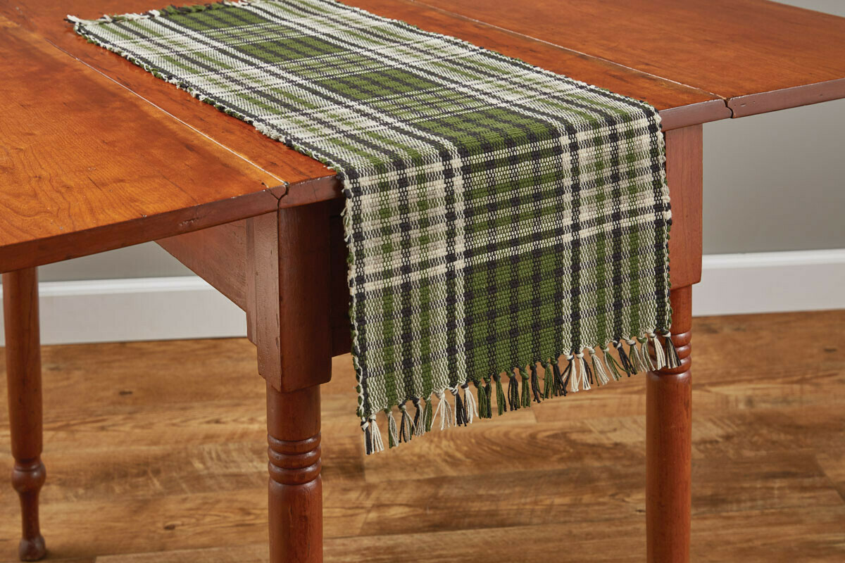 "Juniper Plaid 54"" Runner"