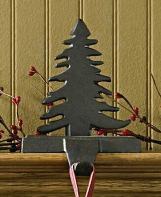 Fir Tree Stocking Hanger