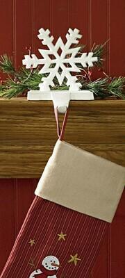 Snowflake Stocking Hanger