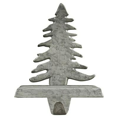 Galvanized Christmas Tree Stocking Hanger