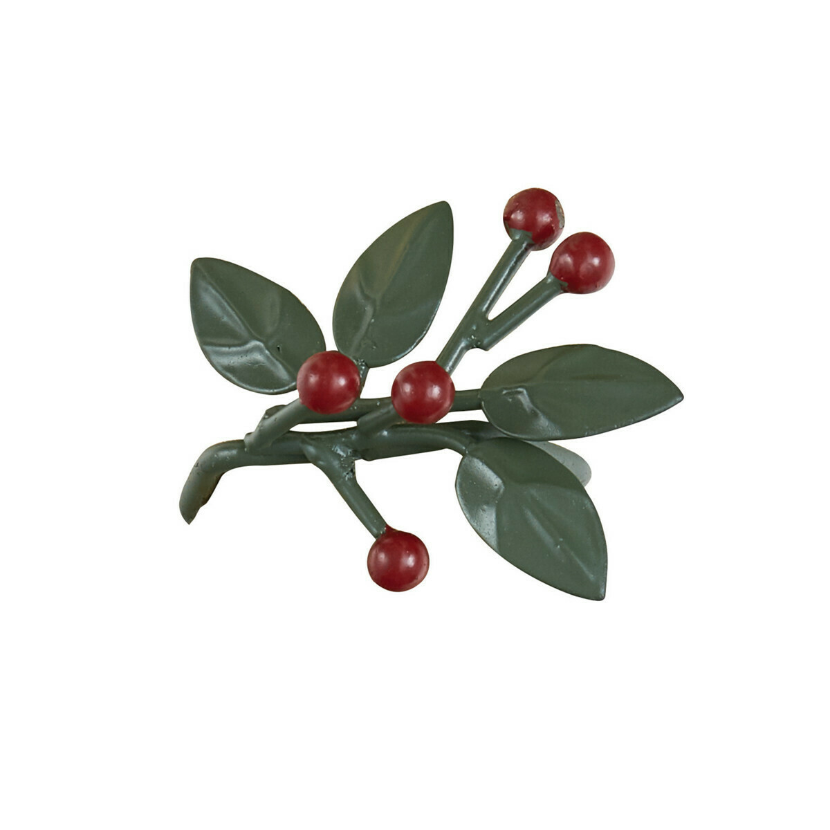 Leaves and Berries Napkin Ring