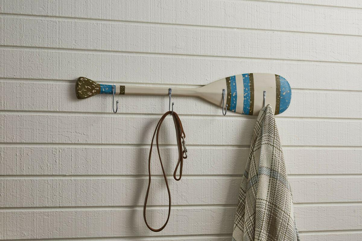 Wood Paddle Hook Board