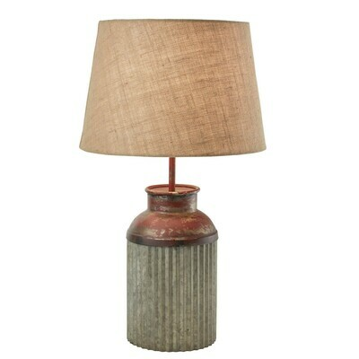 Crimped Canister Lamp