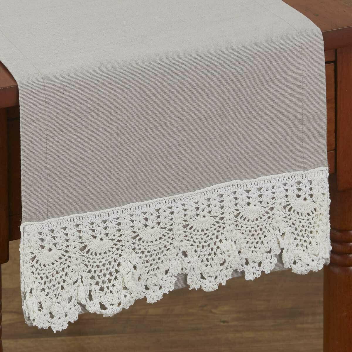 """Vintage Crochet 54"""" Runner"""