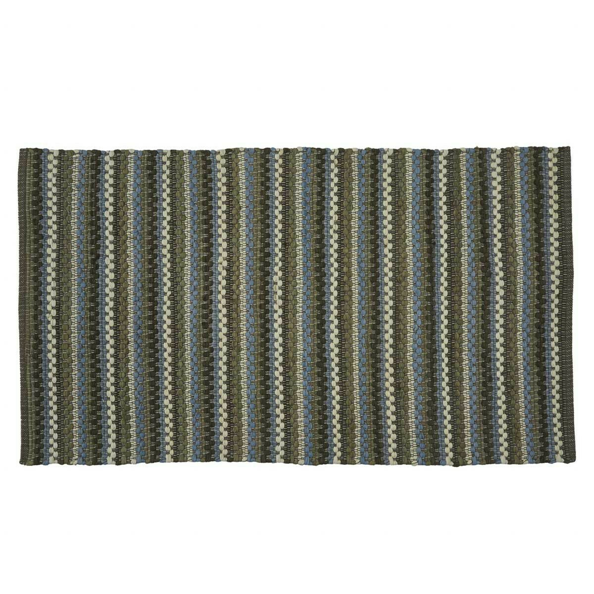 Prairie Wood 3'X5' Rag Rug