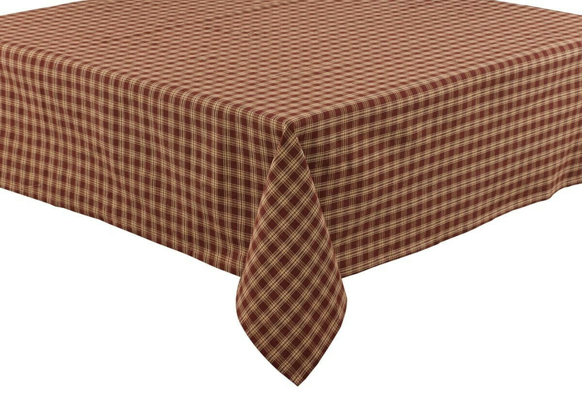 "Wine Sturbridge 54"" Tablecloth"