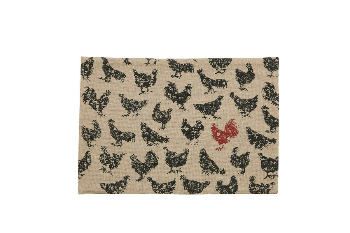 Hens Hen Pecked Placemat