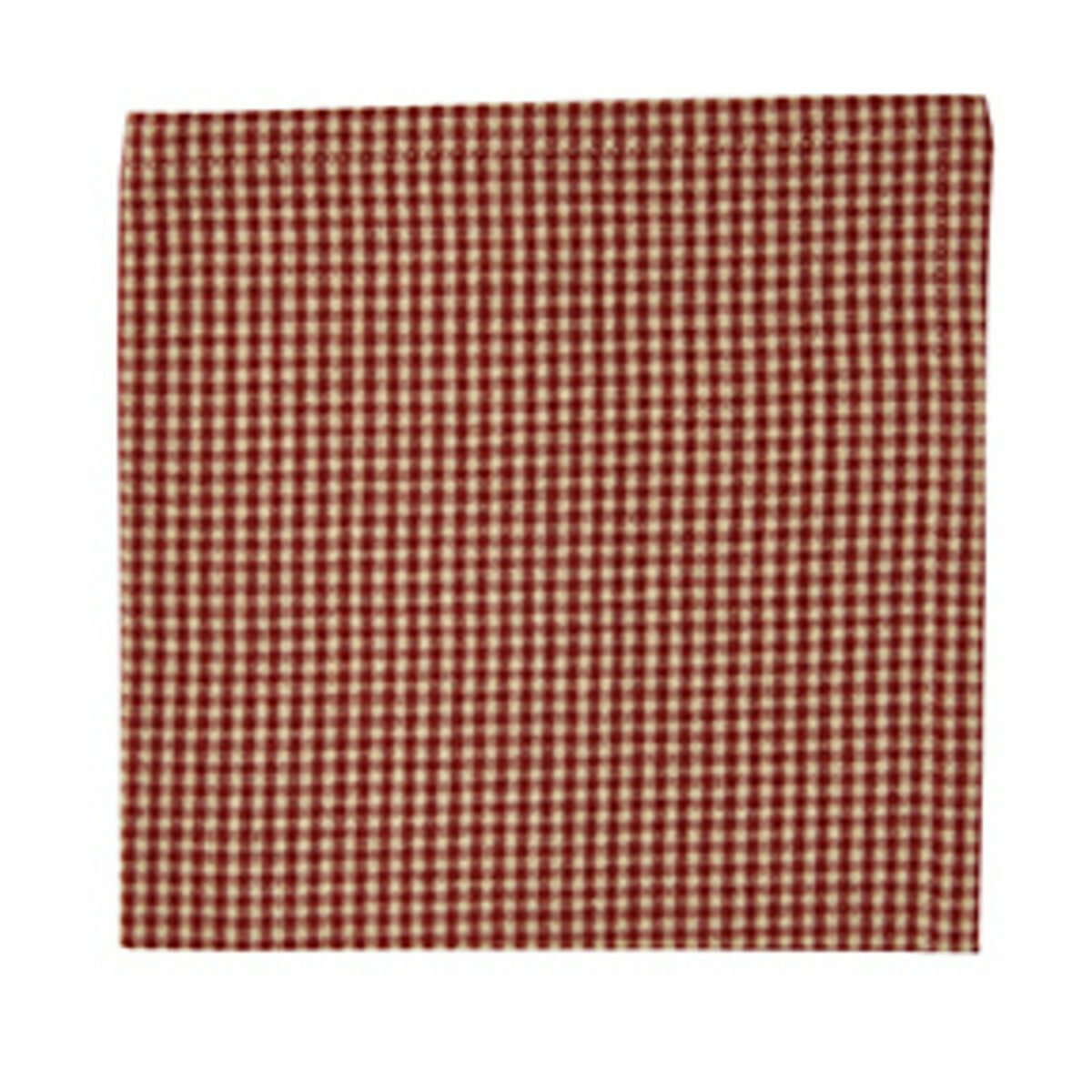 Red Mini Check Napkin