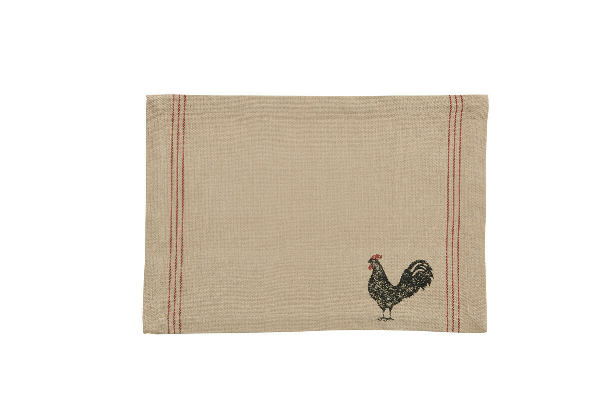 Rooster Hen Pecked Placemat