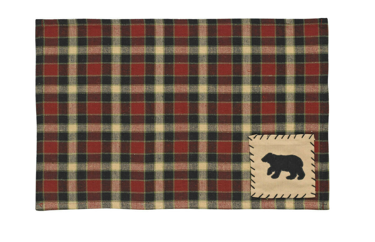 Concord Black Bear Placemat