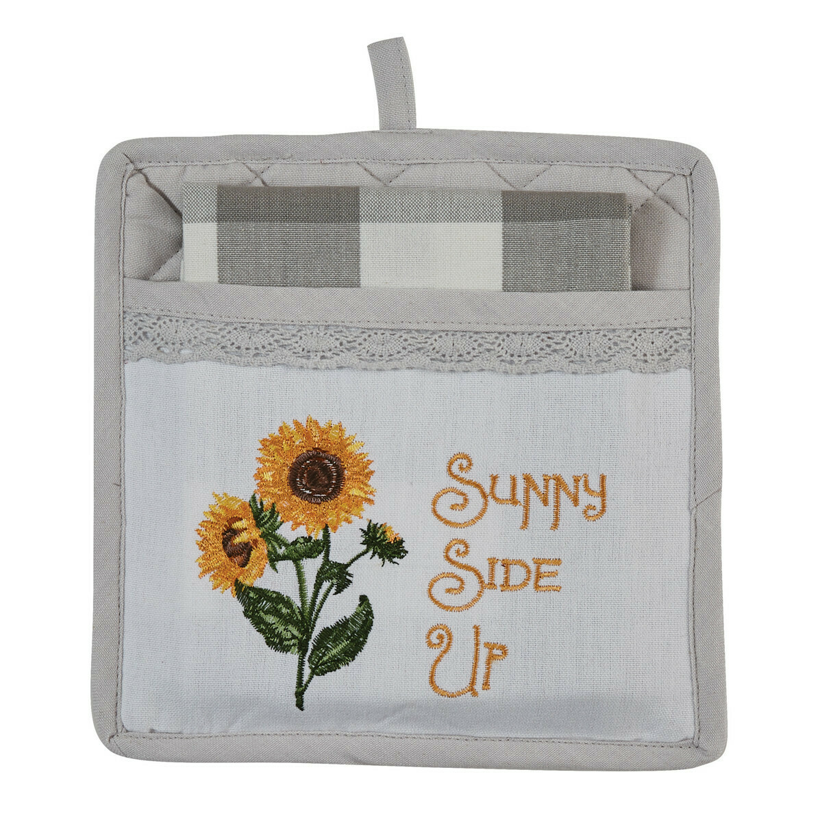 Sunny Side Up Pocket Potholder Set