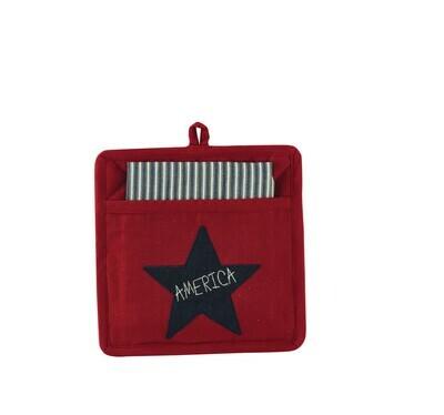 Star Spangled Pocket Potholder Set