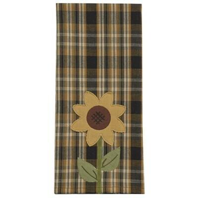 Sunflower in Bloom Decorative Dishtowel