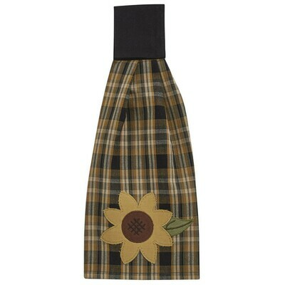 Sunflower in Bloom Decorative Hand Towel
