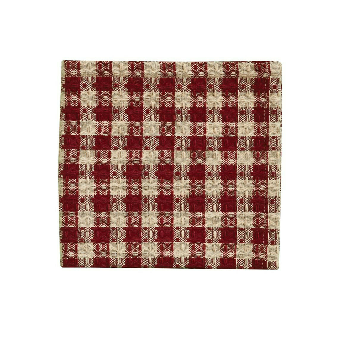Crochet Gingham Dishcloth