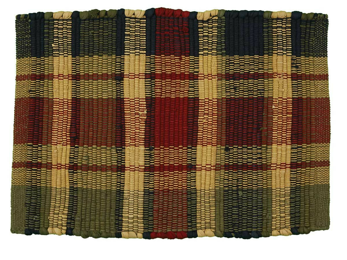 Summit Plaid Chindi Placemat
