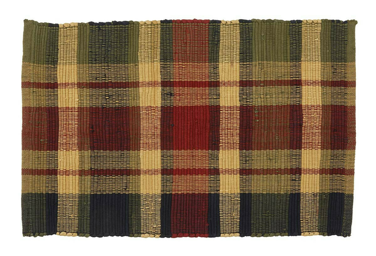 Summit Plaid 2'X3' Rag Rug