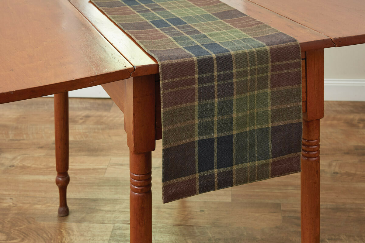 "Frontier Plaid 36"" Runner"