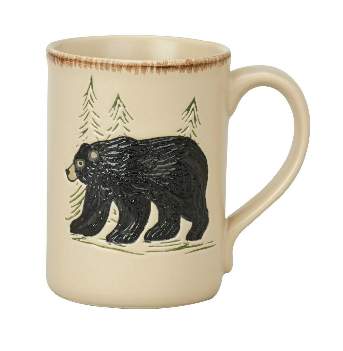 Rustic Retreat Bear Mug