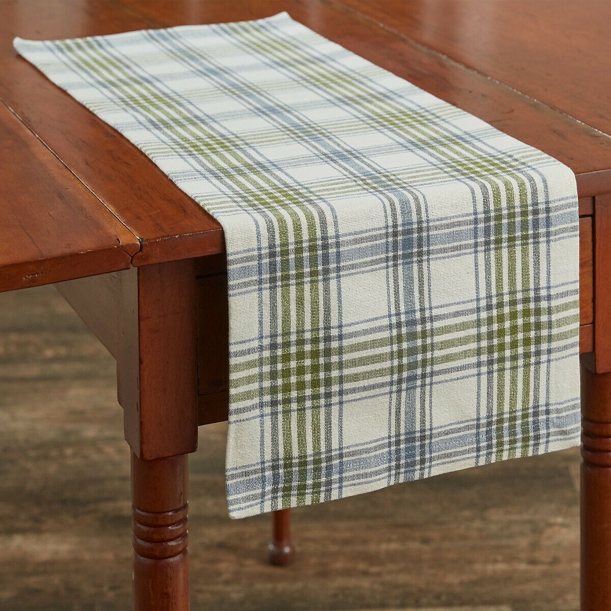 "Hayslip Plaid 36"" Runner"