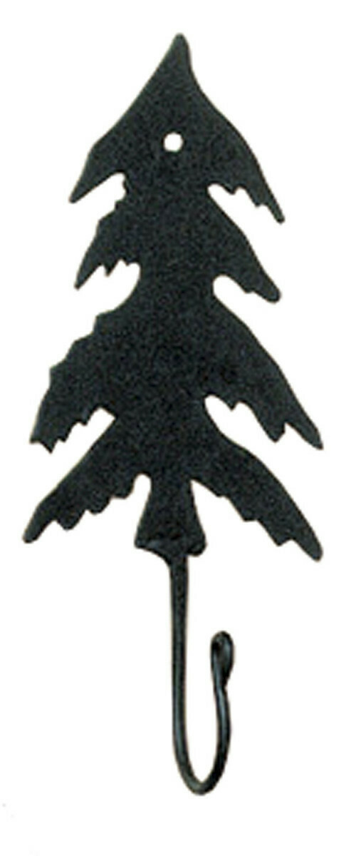 Fir Tree Iron Hook