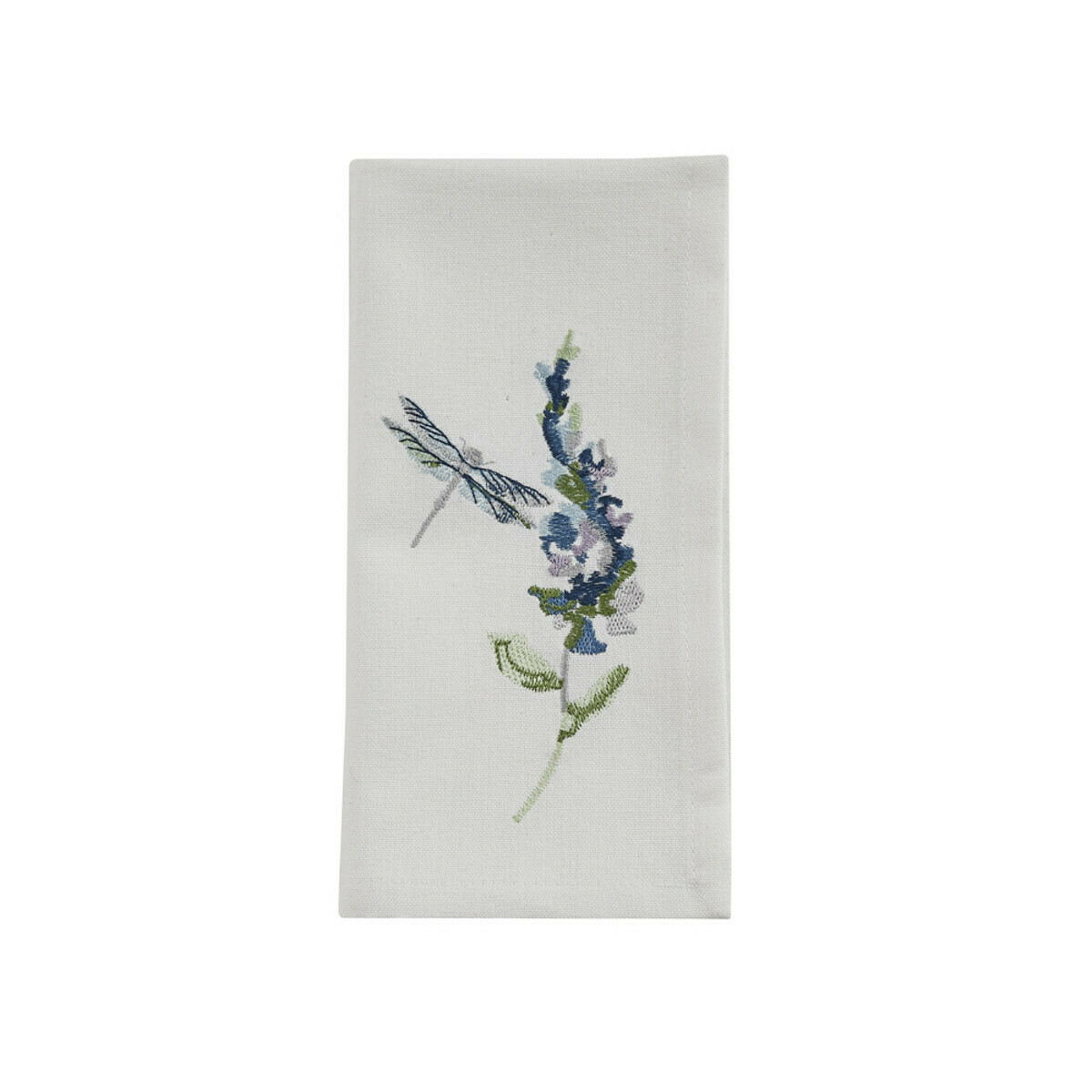 Garden Sketchbook Embroidered Napkin