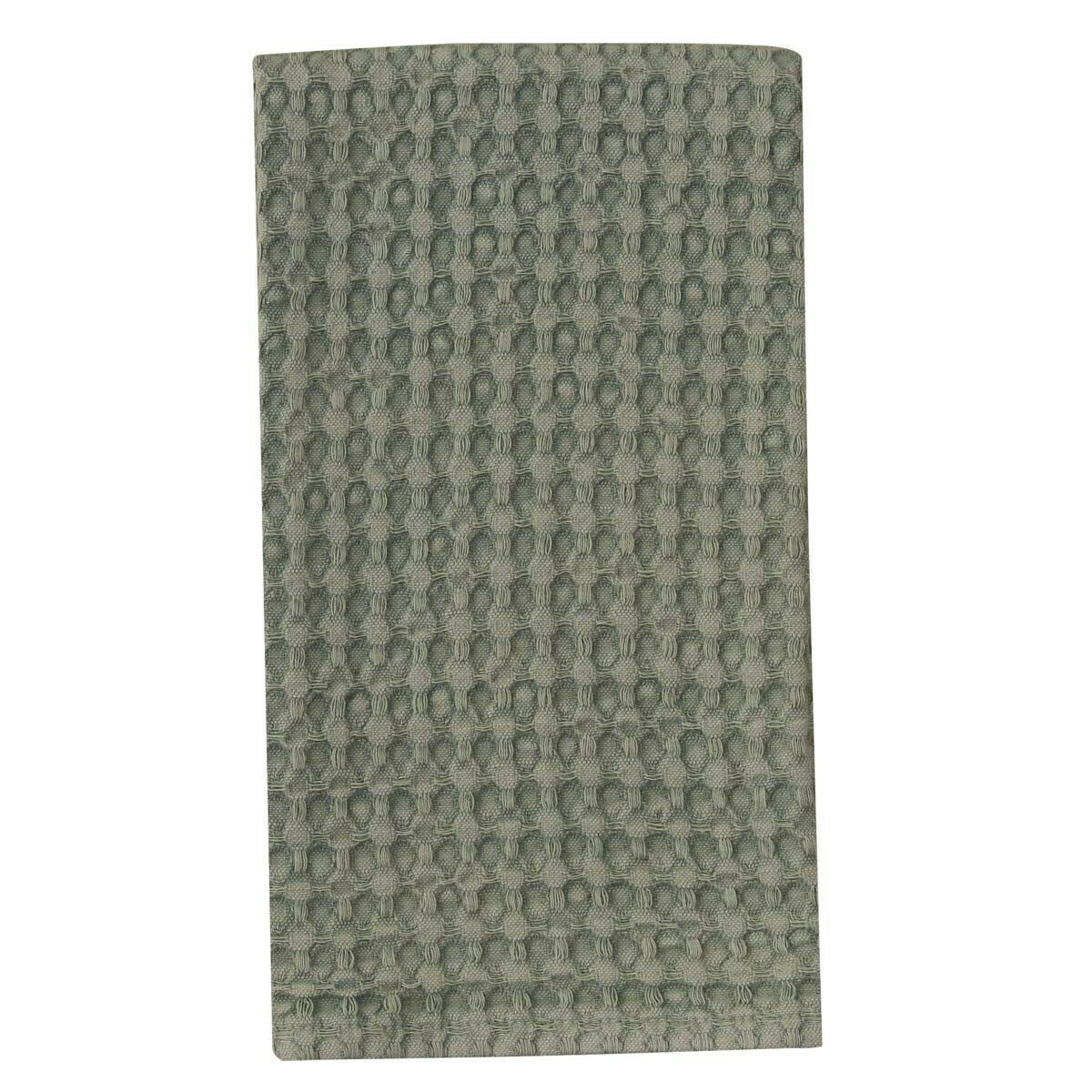 Celedon Waffle Weave Towel