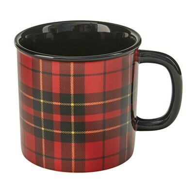 Sportsman Plaid Mug