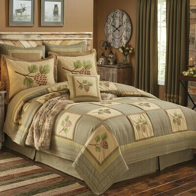 Pineview King Quilt Set