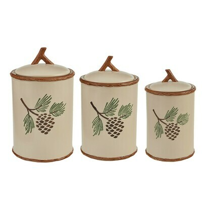 Pinecroft Canister Set